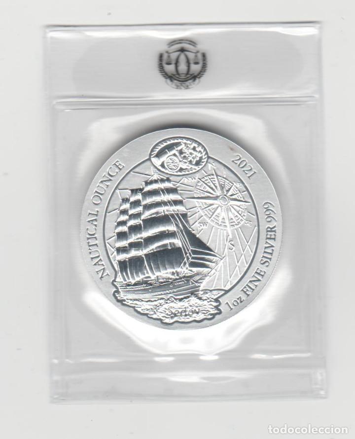 Monedas antiguas de África: RUANDA- 50 AMAFARANGA- 2021- ONZA-PROF-ENCAPSULADA - Foto 2 - 278479528