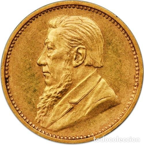 Monedas antiguas de África: ZAR GOLD 3d TICKEY SAMMY MARKS 1898 PROOF COIN (PCGS) - Foto 2 - 278569468