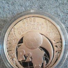 Monedas antiguas de África: MONEDA SOUTH AFRICA 2 RAND 2005 FIFA 2006 GERMANY PLATA 925 SUD AFRICA PROOF S/C. Lote 279594078