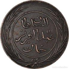 Monedas antiguas de África: [#898197] MONEDA, TÚNEZ, TUNIS, SULTAN ABDUL AZIZ WITH MUHAMMAD AL-SADIQ BEY, 4 KHARUB. Lote 287880773
