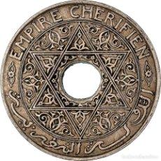 Monedas antiguas de África: [#898193] MONEDA, MARRUECOS, YUSUF, 25 CENTIMES, UNDATED (1921), BI-BARIZ, PARIS, MBC. Lote 287880798
