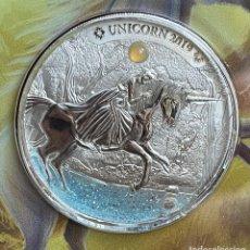 Monedas antiguas de África: MAGNÍFICA Y BELLA MONEDA 1000 FRANCOS 2019 UNICORNIO,CAMERÚN 333 EJEMPLARES ACUÑADOS. Lote 287898383