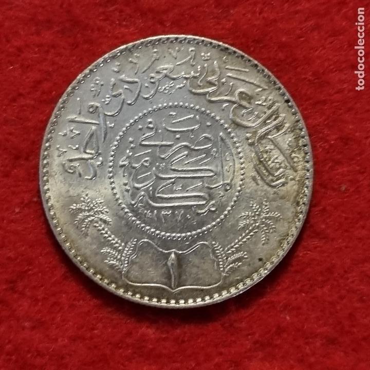 Monedas antiguas de África: MONEDA PLATA MARRUECOS O ARABE PESA 11,60 GRAMOS EBC+ SIN CIRCULAR ORIGINAL C8 - Foto 2 - 287917418