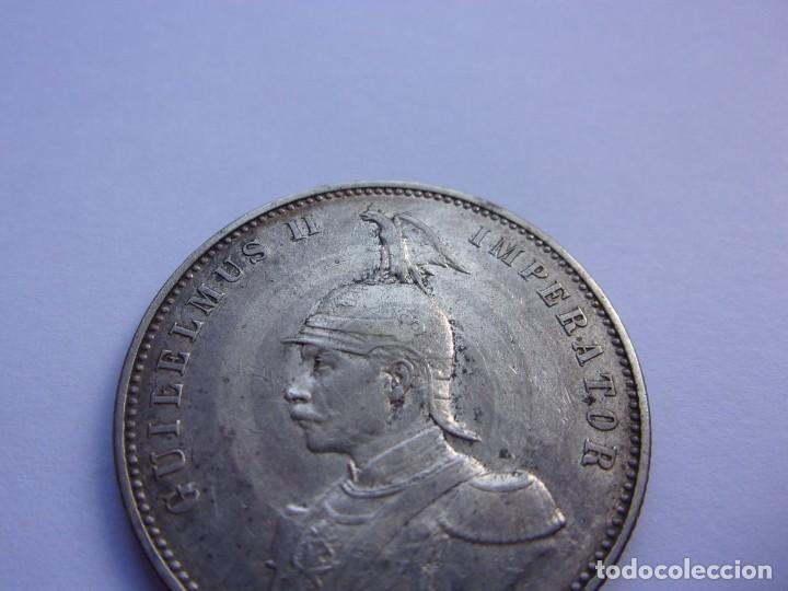 Monedas antiguas de África: 2SCK16 Africa Oriental Alemana 1 rupia de plata 1905 J - Foto 2 - 287929353