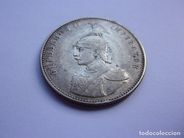 Monedas antiguas de África: 2SCK16 Africa Oriental Alemana 1 rupia de plata 1905 J - Foto 3 - 287929353