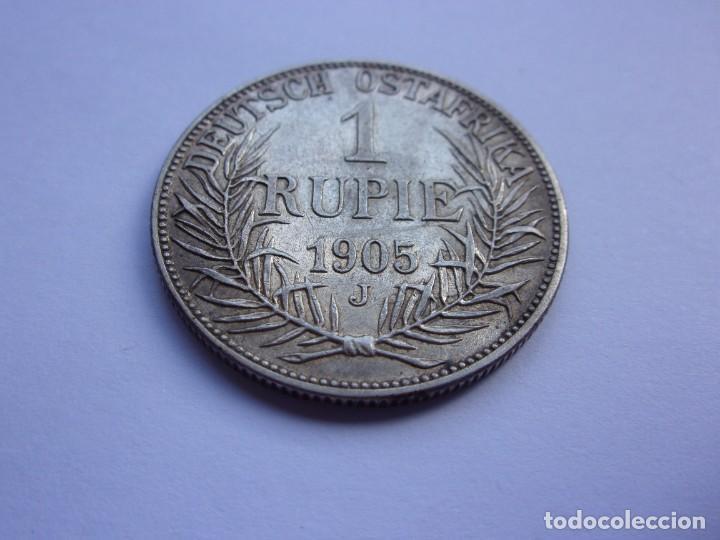 Monedas antiguas de África: 2SCK16 Africa Oriental Alemana 1 rupia de plata 1905 J - Foto 6 - 287929353