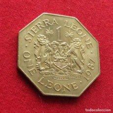 Monedas antiguas de África: SIERRA LEONA 1 LEONE 1987 #1. Lote 287961653