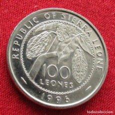 Monedas antiguas de África: SIERRA LEONA 100 LEONE 1996. Lote 287961943