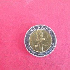 Monedas antiguas de África: 1 NAIRA DE NIGERIA 2006. Lote 288603328