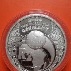 Monedas antiguas de África: MONEDA SOUTH AFRICA 2 RAND 2005 FIFA 2006 GERMANY PLATA 925 SUD AFRICA PROOF S/C. Lote 288908733
