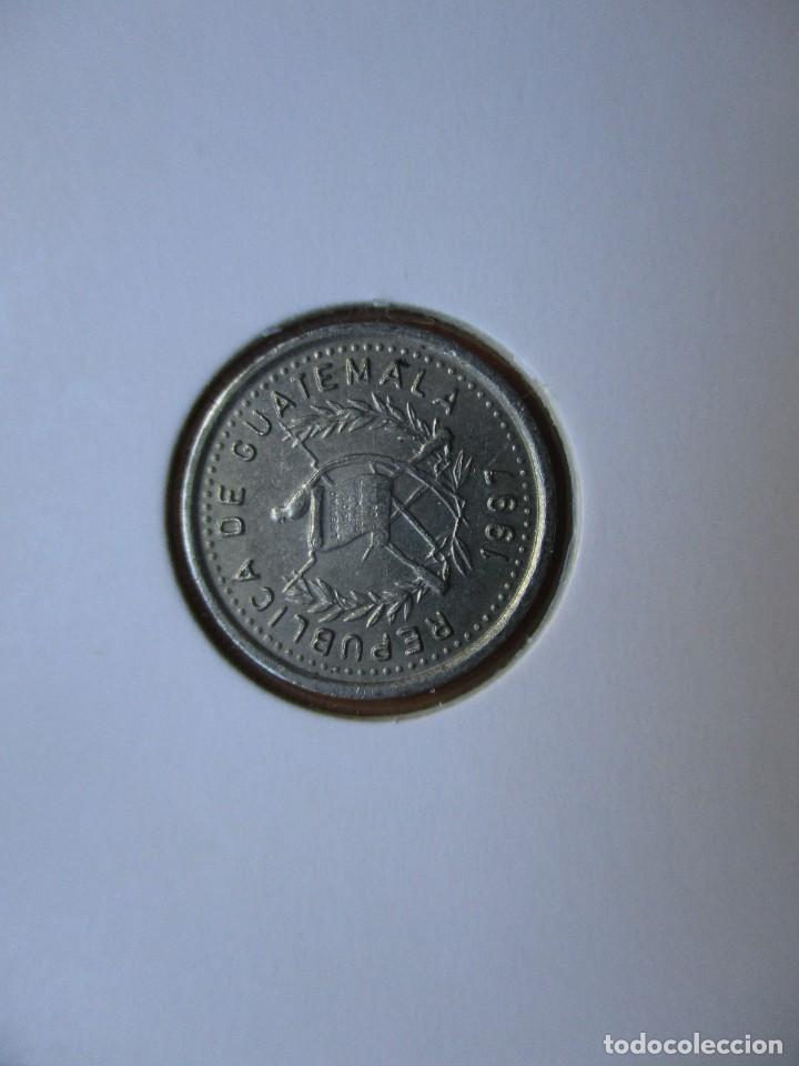 GUATEMALA - 5 CENTAVOS 1997 (Numismática - Extranjeras - África)