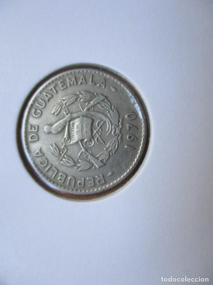 GUATEMALA - 10 CENTAVOS 1970 (Numismática - Extranjeras - África)