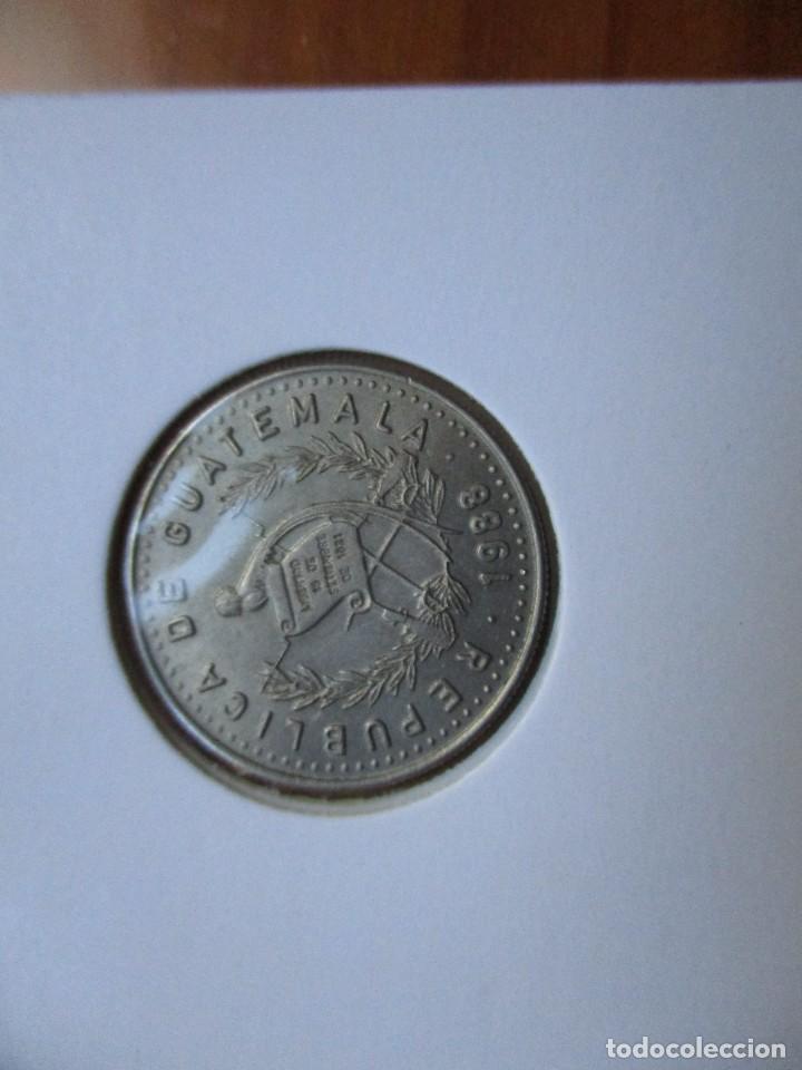 GUATEMALA - 10 CENTAVOS 1988 (Numismática - Extranjeras - África)
