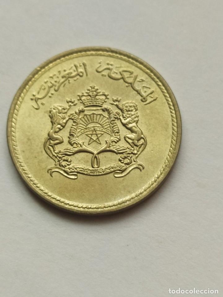 Monedas antiguas de África: ## Marruecos 1974 5 Santimat FAO## - Foto 2 - 289688838