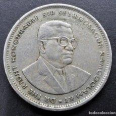 Monedas antiguas de África: MAURICIO, 1 RUPIA 1994. Lote 289698333
