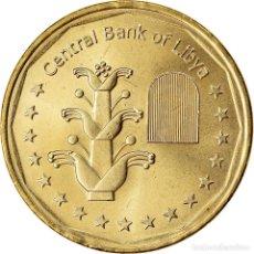 Monedas antiguas de África: [#788099] MONEDA, LIBIA, DINAR, 2017/AH1438, SC, LATÓN CHAPADO EN ACERO. Lote 290076373