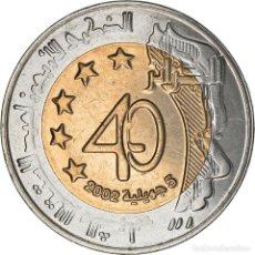 Monedas antiguas de África: [#220536] MONEDA, ALGERIA, 100 DINARS, 2002, ALGIERS, SC, BIMETÁLICO, KM:137. Lote 290081203