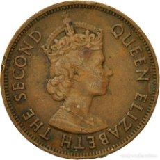 Monedas antiguas de África: [#581161] MONEDA, MAURICIO, ELIZABETH II, 5 CENTS, 1975, MBC, BRONCE, KM:34. Lote 290095723