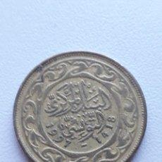 Monedas antiguas de África: TÚNEZ 100 MILLIMES MONEDA MILLIM. Lote 290097513
