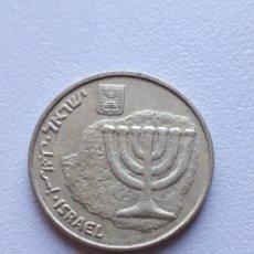 Monedas antiguas de África: 10 AGOROT ISRAEL MONEDA. Lote 290099448
