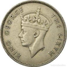 Monedas antiguas de África: [#693805] MONEDA, MAURICIO, GEORGE VI, RUPEE, 1951, MBC, COBRE - NÍQUEL, KM:29.1. Lote 290101583