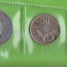 Monedas antiguas de África: MONEDAS EXTRANJERAS - SOMALIA - 5-10 1976 -SENTI 50 SENTI 1 SHILLING 1984 - 1 SCILLINO 1967 (EBC/SC). Lote 293759538