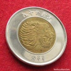 Monedas antiguas de África: ETHIOPIA ETIOPÍA 1 BIR 2010 #1. Lote 294069303