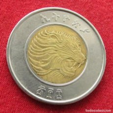 Monedas antiguas de África: ETHIOPIA ETIOPÍA 1 BIR 2016 #2. Lote 294069633