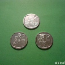 Monedas antiguas de África: SET 3 X 2 RAND 2019 SUDAFRICA SOUTH AFRICA SIN CIRUCLAR / UNC. Lote 294482988