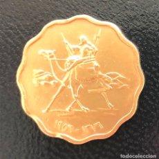 Monedas antiguas de África: CURIOSA MONEDA 5 MILLIEMES REPÚBLICA DE SUDÁN 1956. Lote 294502548