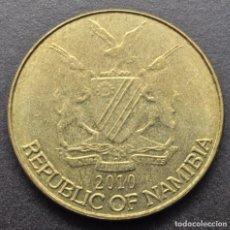 Monedas antiguas de África: NAMIBIA, 1 DÓLAR 2010. Lote 294511078