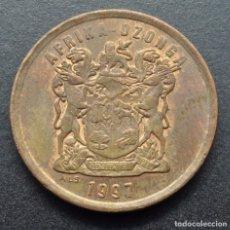 Monedas antiguas de África: SUDÁFRICA, 5 CENTAVOS 1997. Lote 294511138