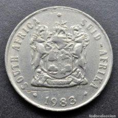 Monedas antiguas de África: SUDÁFRICA, 10 CENTAVOS 1983. Lote 294511188