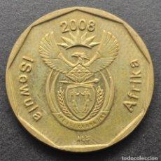 Monedas antiguas de África: SUDÁFRICA, 20 CENTAVOS 2008. Lote 294511738