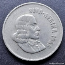 "Monedas antiguas de África: SUDÁFRICA, 10 CENTAVOS 1965 - LEYENDA EN AFRIKÁNER - ""SUID-AFRIKA"". Lote 294512383"