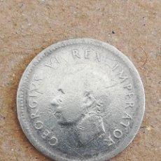 Monedas antiguas de África: ANTIGUA MONEDA 3 PENIQUES SUR ÁFRICA 1941 INGLATERRA PLATA. Lote 295967613