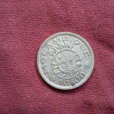 Monedas antiguas de África: MOZAMBIQUE. 10 ESCUDOS DE PLATA DE 1960. Lote 296004948