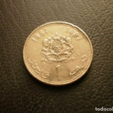 Monedas antiguas de África: MARRUECOS 1 DIRAHM 1987. Lote 296780048