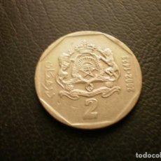 Monedas antiguas de África: MARRUECOS 2 DIRAHMS 2002. Lote 296780148