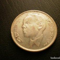 Monedas antiguas de África: MARRUECOS 5 DIRAHMS 1965 PLATA. Lote 296780338
