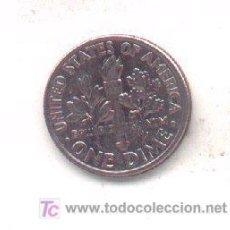 Monedas antiguas de América: 4-440. EE.UU. 1 DIME 1993P, MBC. Lote 4680757