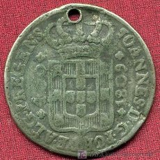 Monedas antiguas de América: MONEDA BRASIL ANTIQUISIMA - 1809 - VALOR 100- JOANNES D.G.. Lote 27260469