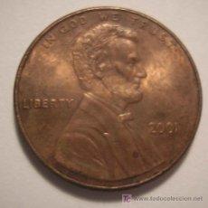 Monedas antiguas de América: ESTADOS UNIDOS1-CETIMO-2001. Lote 7605138