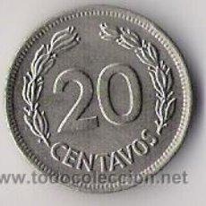 Monedas antiguas de América: ECUADOR. 20 CENTAVOS. 1978. KM77.2A. REPUBLICA DEL ECUADOR.. Lote 16970298