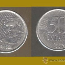 Monedas antiguas de América: BRASIL / 50 CENTAVOS 1994. Lote 20798906