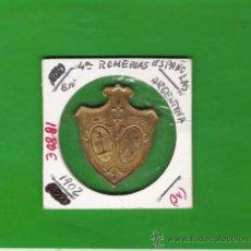 Monedas antiguas de América: ARGENTINA PRECIOSA MEDALLA DE LAS 4ª ROMERIAS ESPAÑOLAS EN 1902 . Lote 18714671