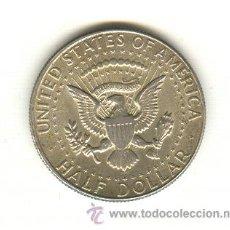 Alte Münzen aus Amerika - BONITO MEDIO DOLLAR DE PLATA AÑO 1967 KENNEDY - 22175926