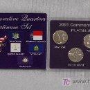 Monedas antiguas de América: ESTUCHE USA STATE QUARTER SET-PLATINUM AÑO 2001 . Lote 26506705