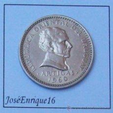 Monedas antiguas de América: URUGUAY MONEDA 50 CENTESIMOS 1960. Lote 23879943