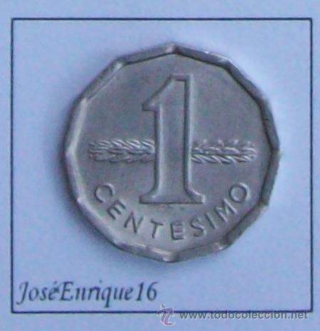 Monedas antiguas de América: 1977 URUGUAY MONEDA 1 CENTESIMO - Foto 2 - 57618219
